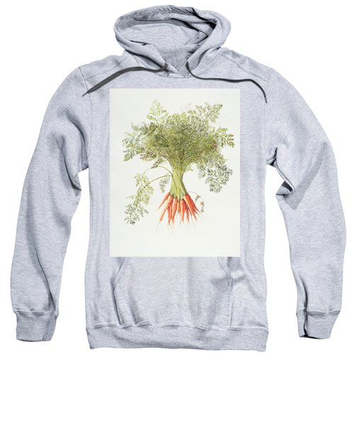 Carrots Sweatshirt by Margaret Ann Eden