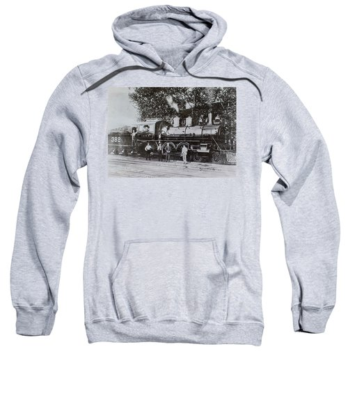 Casey Jones Engine  Sweatshirt