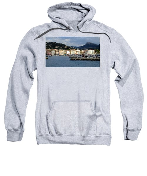 Cassis Town And Harbor Sweatshirt