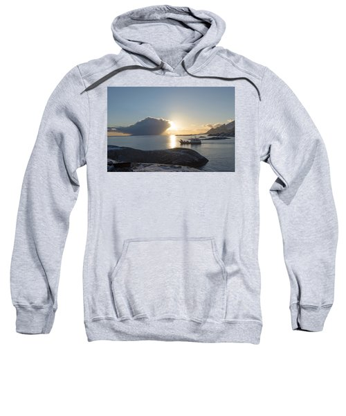 Cast A Giant Shadow... Reine Lofoten Sweatshirt