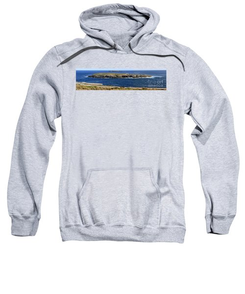 Sweatshirt featuring the photograph Casuarina Islets by Stephen Mitchell