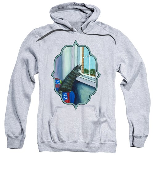 Cat By The Window Sweatshirt