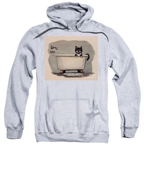 Cat In The Bathtub Sweatshirt