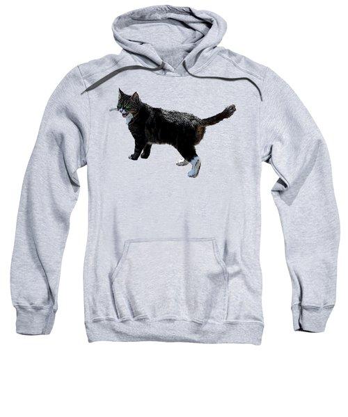 Cat Says Sweatshirt