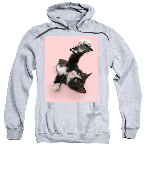 Cat Selfie Sweatshirt