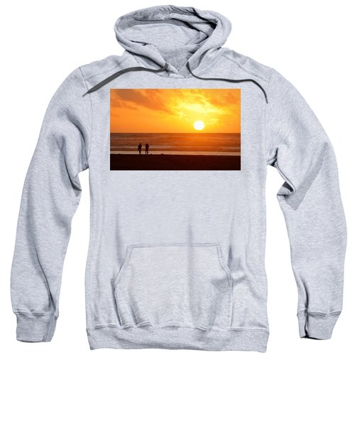 Catching A Setting Sun Sweatshirt