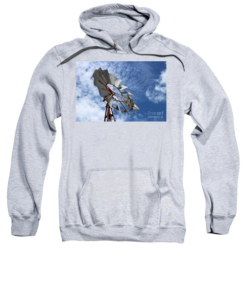 Sweatshirt featuring the photograph Catching The Breeze by Stephen Mitchell