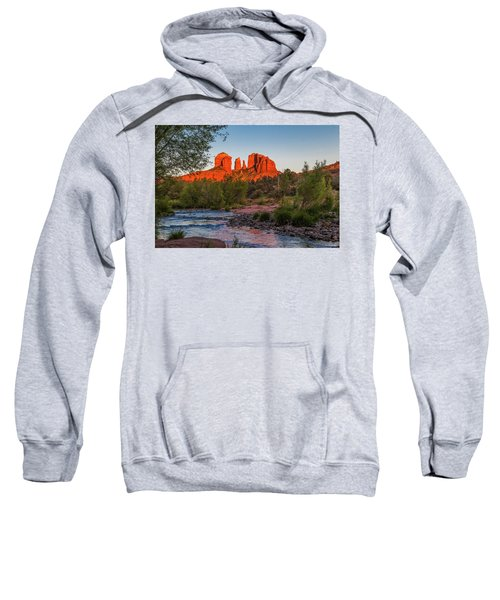 Cathedral Rock At Red Rock Crossing Sweatshirt