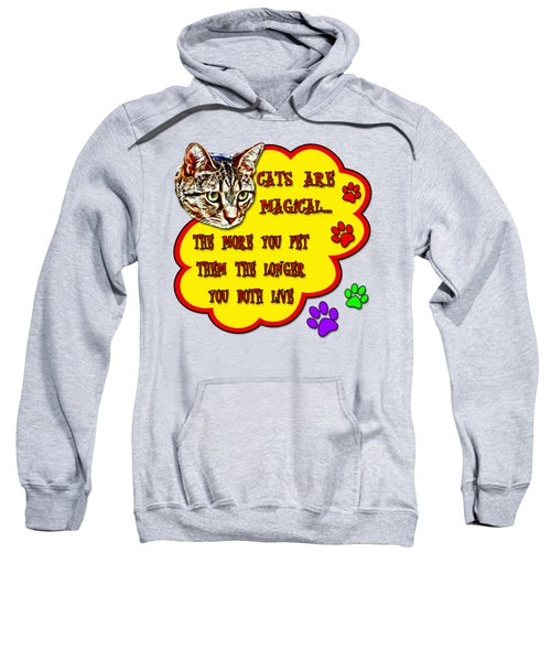 Cats Are Magical Sweatshirt