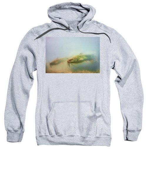 Cats In The Water Sweatshirt