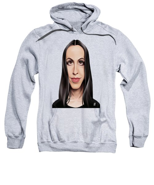 Celebrity Sunday - Alanis Morissette Sweatshirt