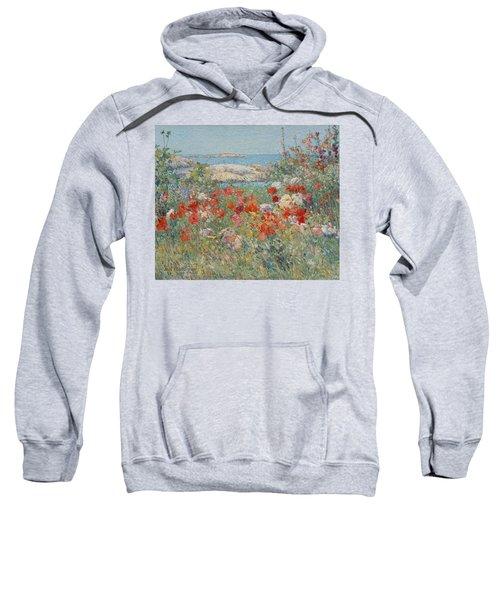 Celia Thaxter's Garden, Isles Of Shoals, Maine Sweatshirt