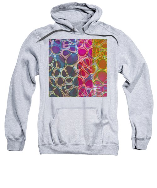 Cell Abstract 11 Sweatshirt
