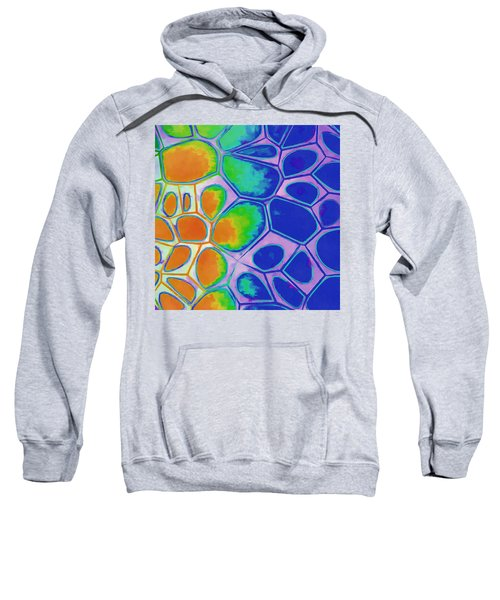 Cell Abstract 2 Sweatshirt