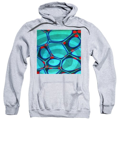 Cell Abstract 6a Sweatshirt