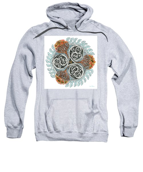 Celtic Knot With Autumn Trees Sweatshirt
