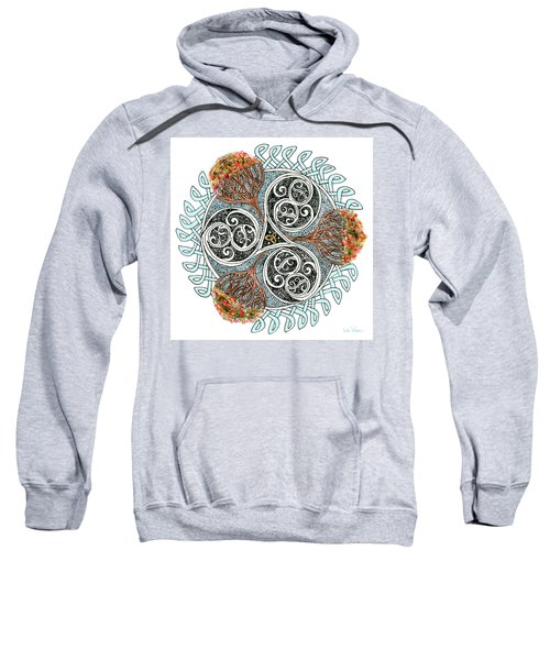 Celtic Knot With Autumn Trees Sweatshirt