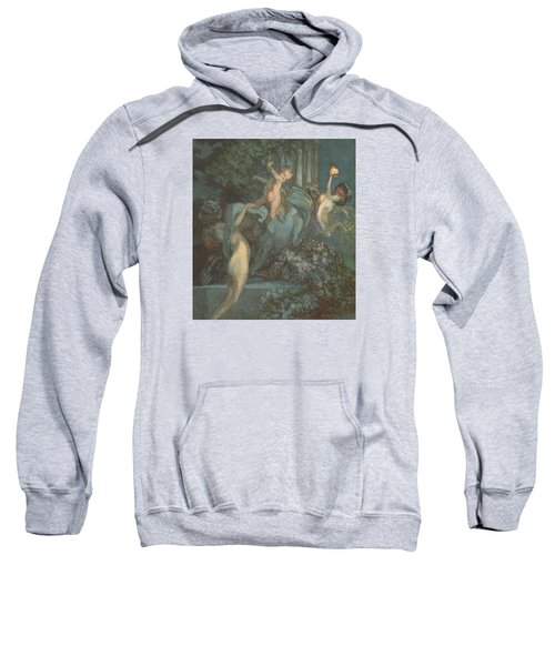 Centaur Nymphs And Cupid Sweatshirt