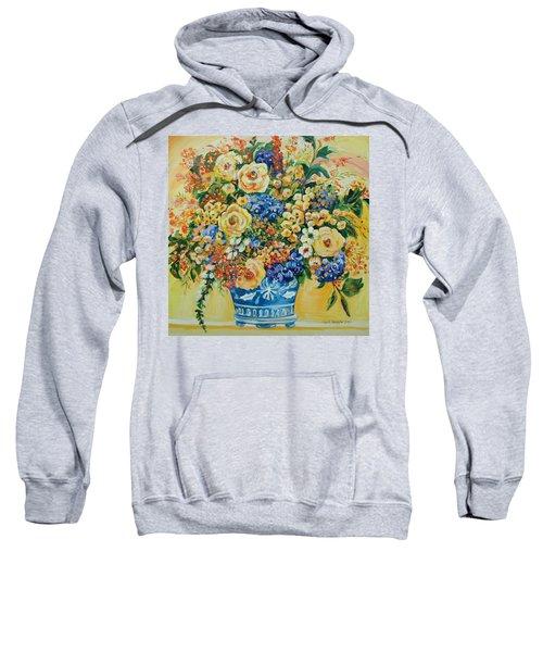 Ceramic Blue Sweatshirt