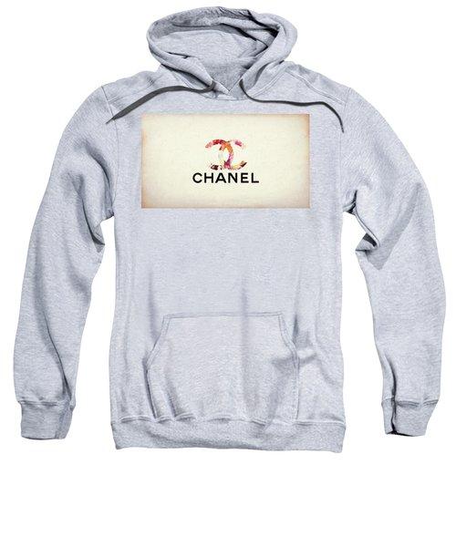 Chanel Floral Texture  Sweatshirt