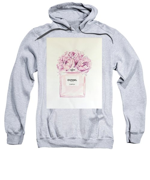 Chanel Peonies Sweatshirt