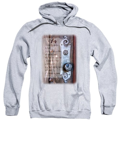 Chapel Door - Verse Sweatshirt