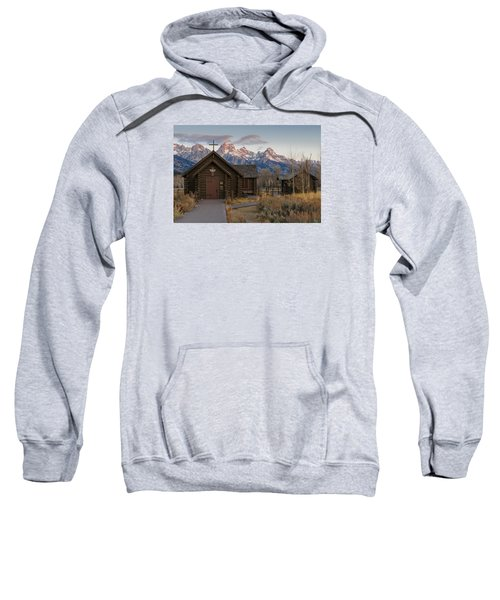 Chapel Of The Transfiguration - II Sweatshirt by Gary Lengyel
