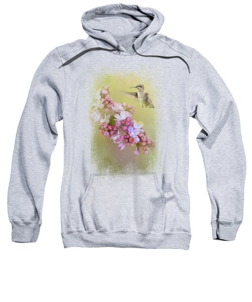 Chasing Lilacs Sweatshirt by Jai Johnson