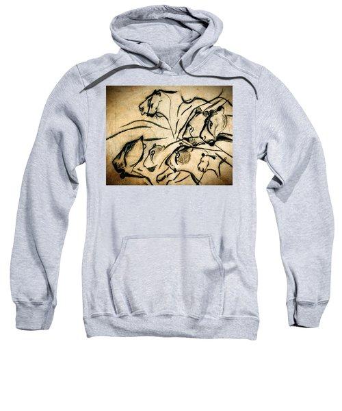 Chauvet Cave Lions Sweatshirt