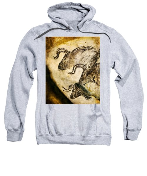 Chauvet - Three Aurochs Sweatshirt