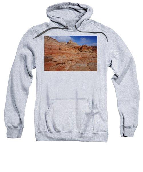 Checkered Red Rock Sweatshirt
