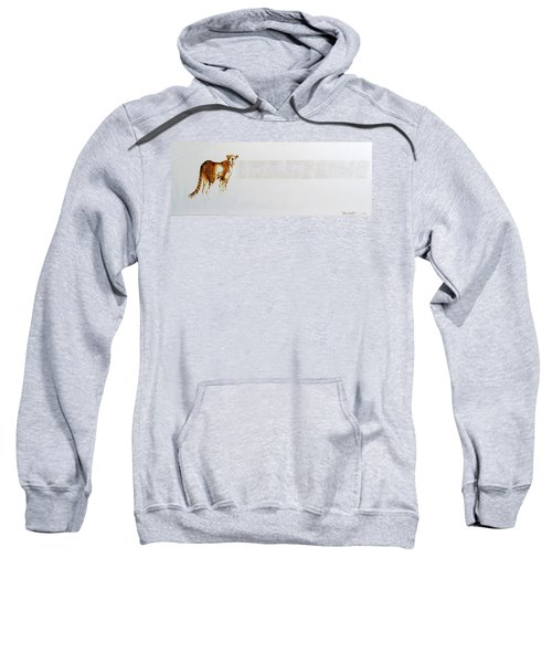 Cheetah And Zebras Sweatshirt