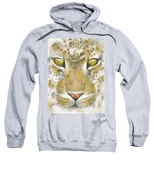 Cheetah Face Sweatshirt