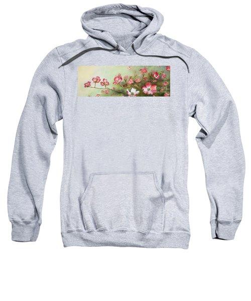 Cherokee Dogwood - Brave- Blushing Sweatshirt
