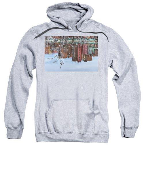 Cherry Blossom Reflections Sweatshirt
