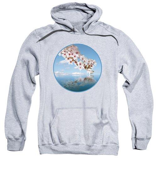 Cherry Cascade Reflection Sweatshirt