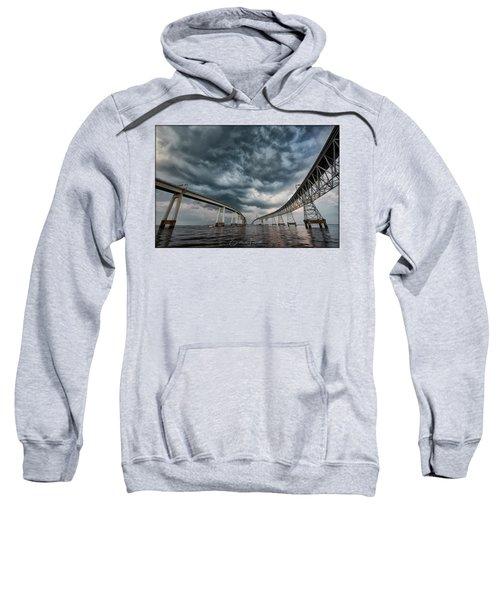 Chesapeake Bay Bridge Storm Sweatshirt