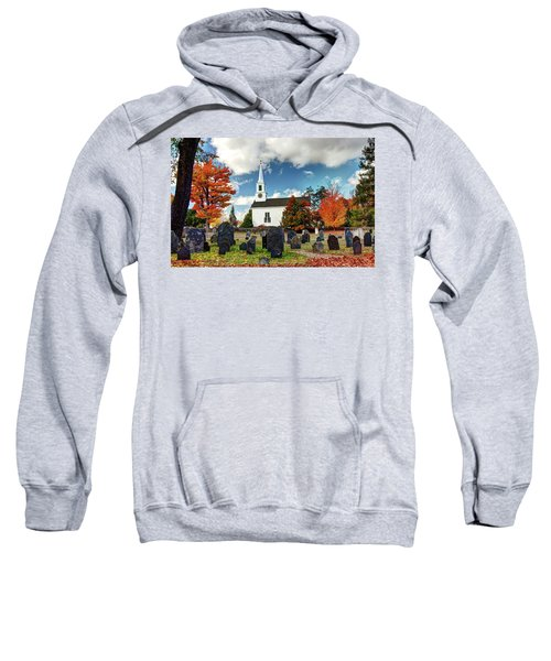 Chester Village Cemetery In Autumn Sweatshirt