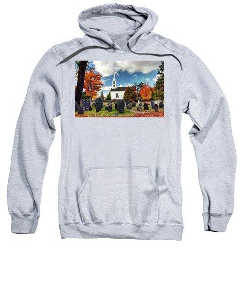 Chester Village Cemetery In Autumn Sweatshirt
