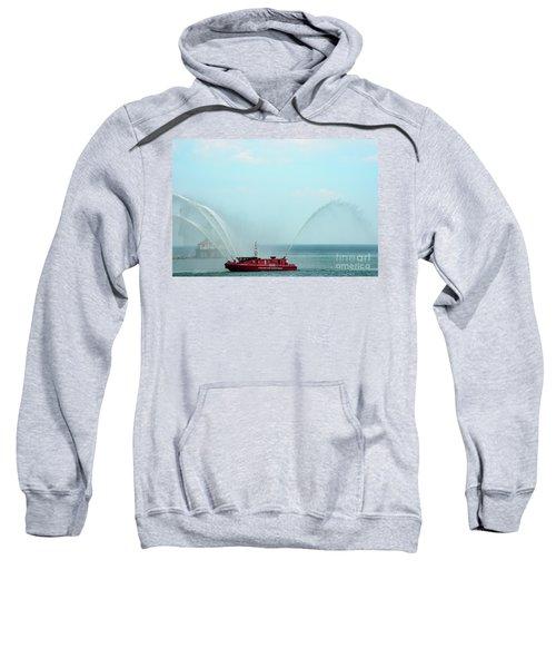 Chicago Fire Department Fireboat Sweatshirt