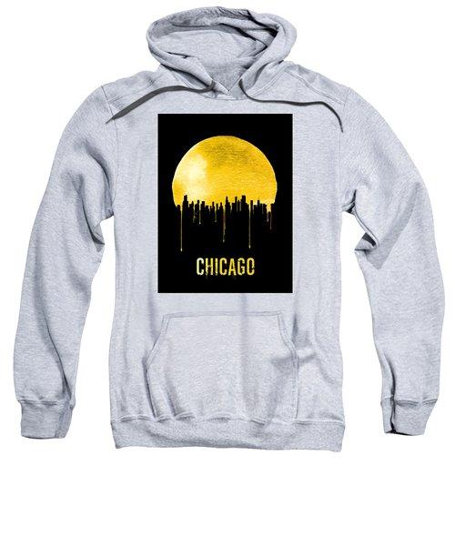 Chicago Skyline Yellow Sweatshirt