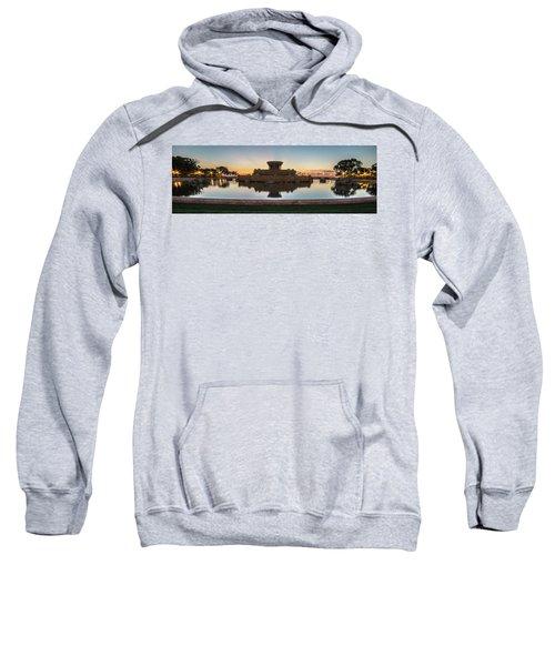 Chicago's Buckingham Fountain At Dawn  Sweatshirt