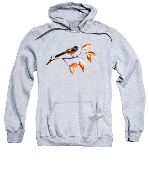 Chickadee Sweatshirt by Troy Rider