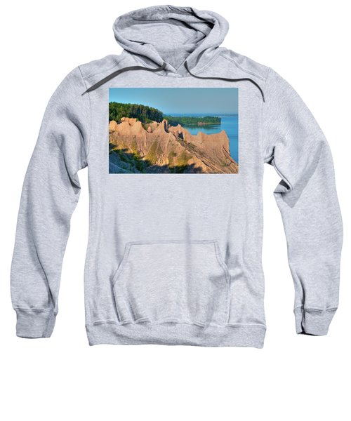 Chimney Bluffs 1750 Sweatshirt