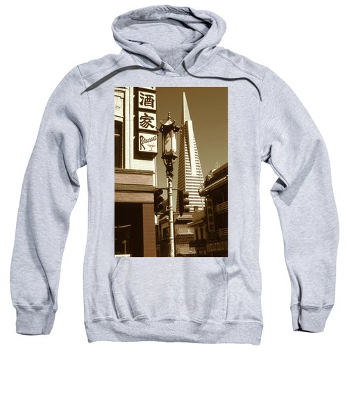 Chinatown San Francisco - Vintage Photo Art Sweatshirt
