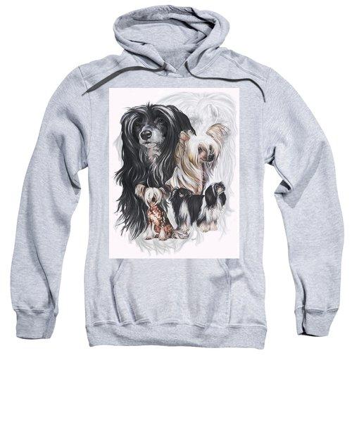 Chinese Crested And Powderpuff Medley Sweatshirt