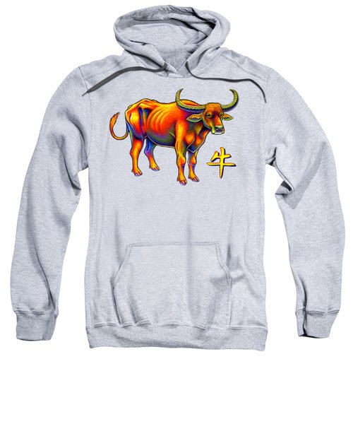 Chinese Zodiac - Year Of The Ox Sweatshirt
