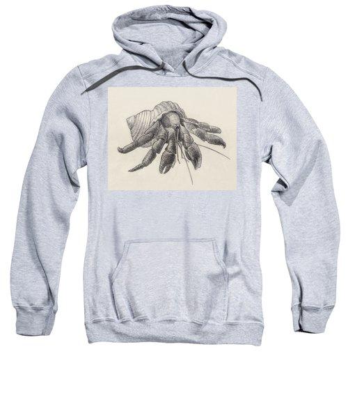 Chocolate Hermit Crab Sweatshirt
