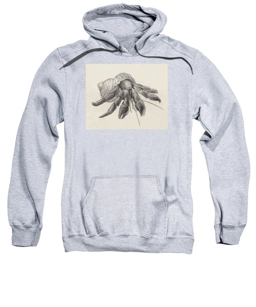 Chocolate Hermit Crab Sweatshirt