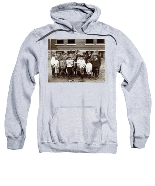 Choosing Baseball Teams Sweatshirt